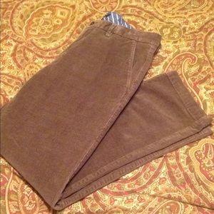 Banana Republic Corduroy pants---Size: 33/30
